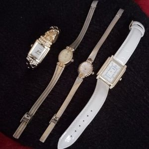 Lot of 4 fashion watches